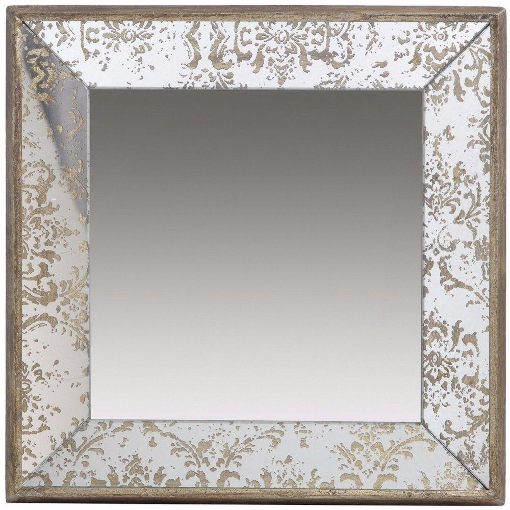 Kara Captivating Square Hanging Mirror