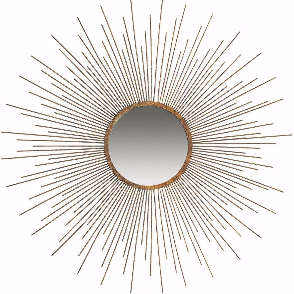Keith Classic Sun Inspired Wall Mirror