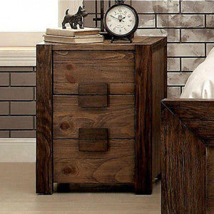 Abril Transitional Style Night Stand
