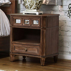 Mae Transitional Style Night Stand
