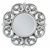 Macy Alluring Accent Mirror, Silver