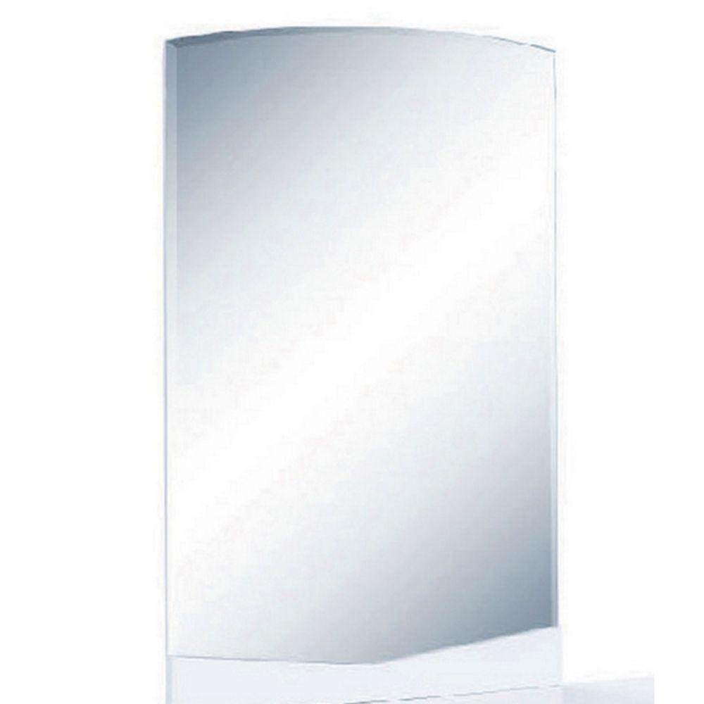Rebecca Exquisite White High Gloss Mirror 43""