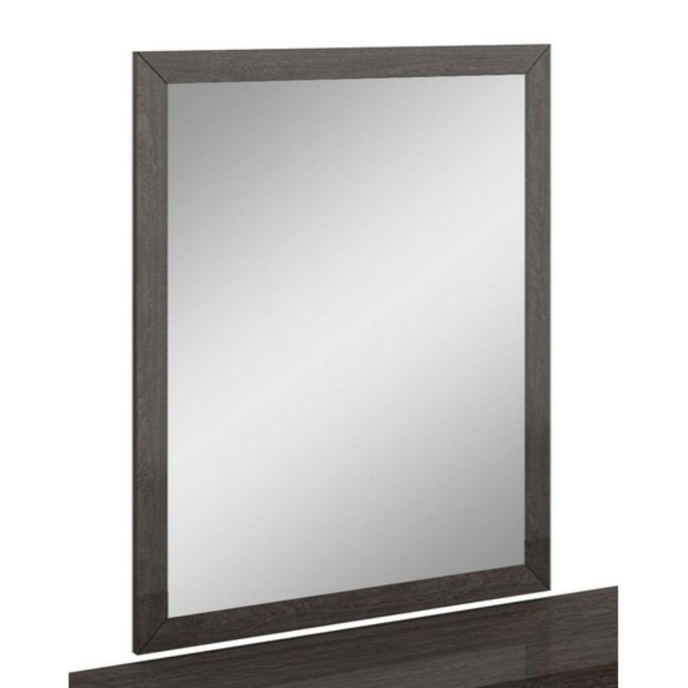 Jayla Refined Grey High Gloss Mirror 43""