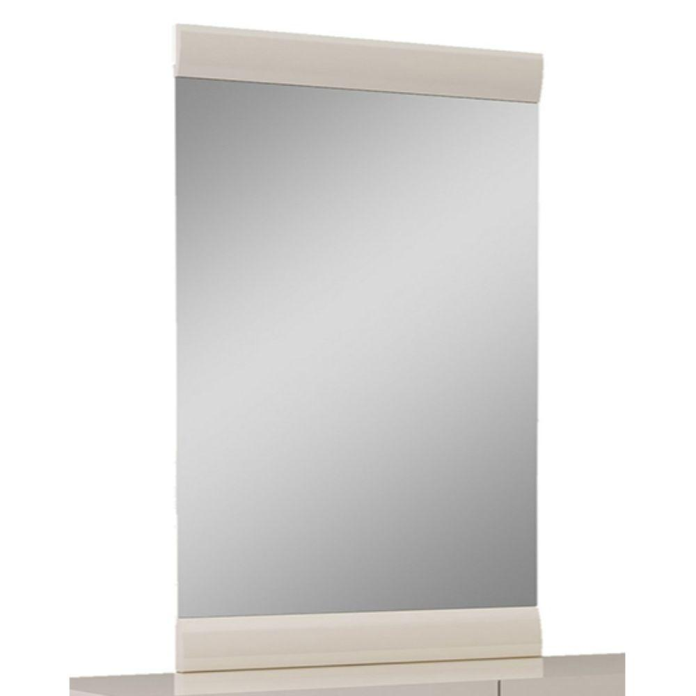 Gabriela Refined Beige High Gloss Mirror 47""