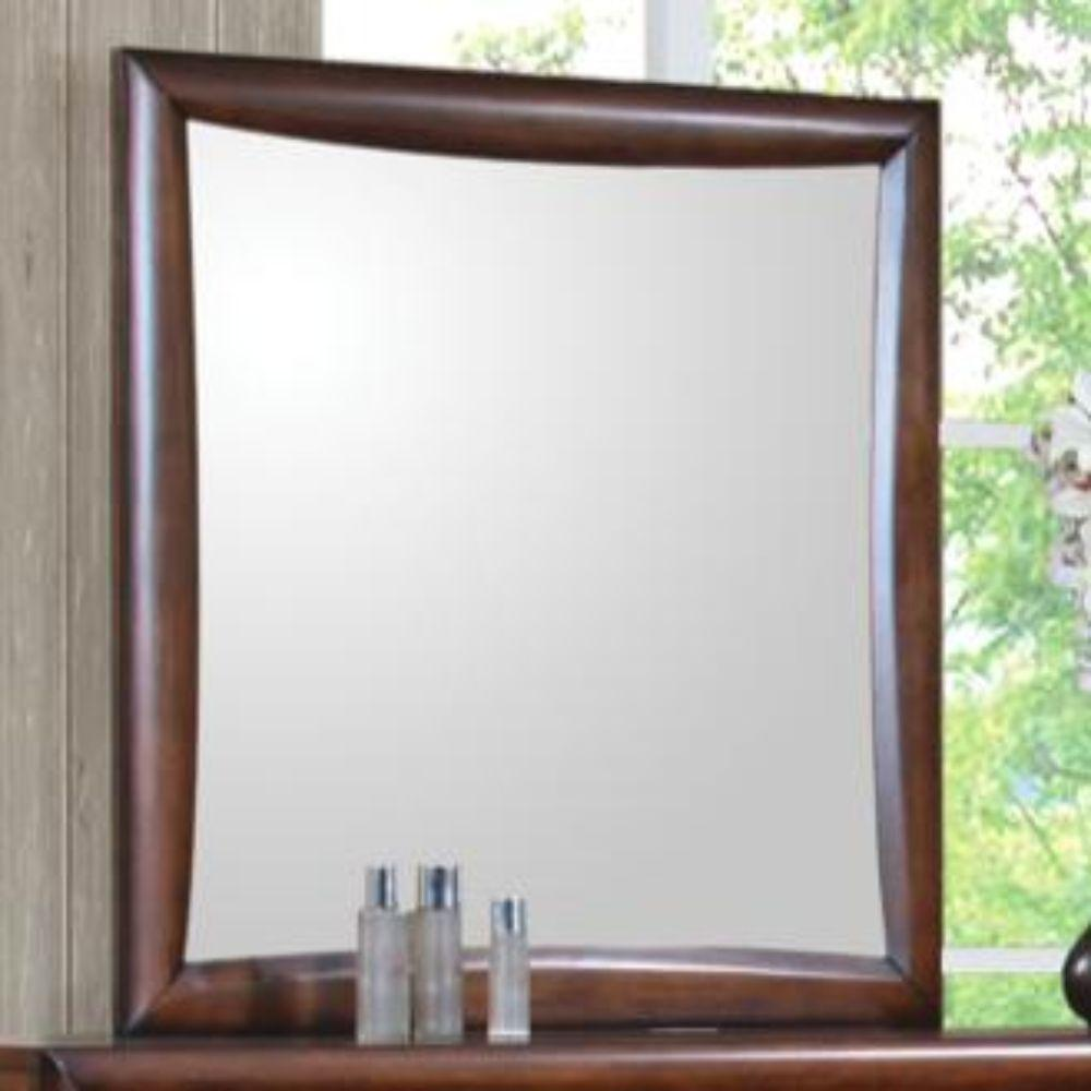 Talia Dresser Mirror, Warm Brown