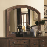 Cynthia Dresser Mirror, Rustic Brown