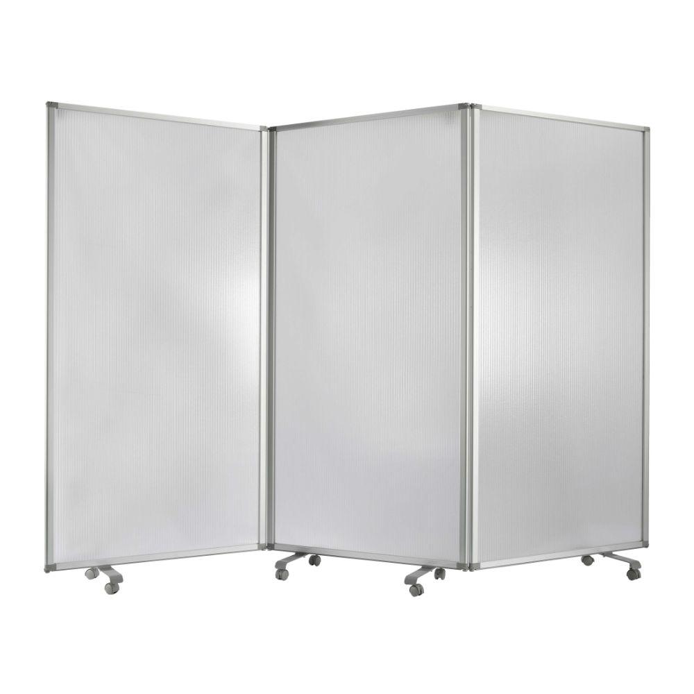 "Fiona  Metal and PVC  Resilient Screen 71"" X 106"" X 1"""