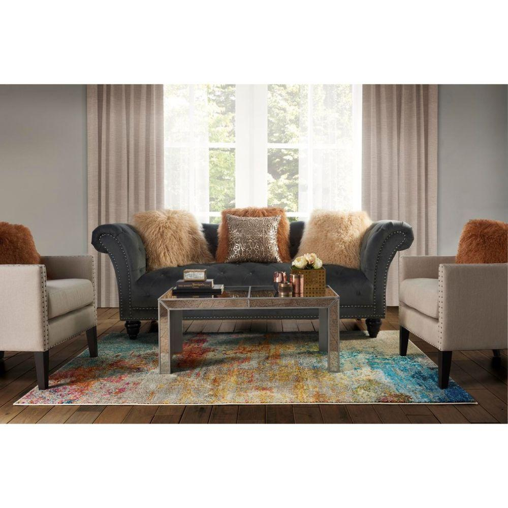 "Nourison Celestial Modern Abstract Area Rug, Sealife, 7'10""x10'6"""