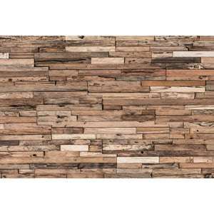 Reclaimed Wood Tiles, Wheels, 10.76 Sq.Ft