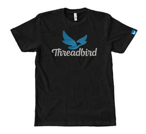"""Threadbird Logo' Tee Discharge (Next Level 6210)"