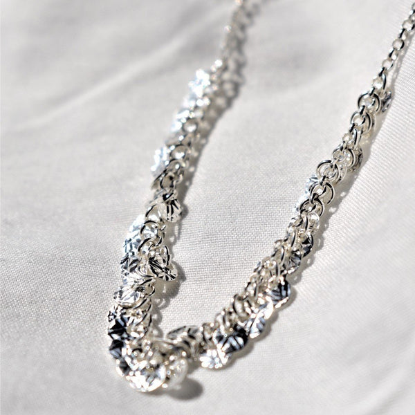 Speakeasy silver necklace - Ayu House