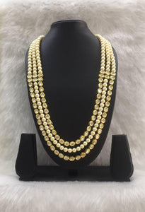 Luxurious Multilayer Gold Kundan Neckalce-Fashion Kida