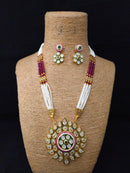 Embellishment Designer Kundan Necklace Set