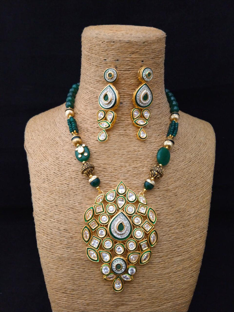 Perfect fit Stunning Kundan Necklace Set