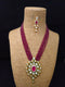 Briolette Fab Designer Kundan Necklace Set