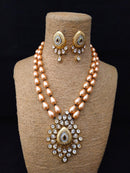 Heirloom Enriched Kundan Necklace Set