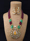 Ganpati Traditional Kundan Necklace Set
