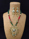 Riviere Sterling Kundan Necklace Set