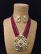Carcanet Srylish Kundan Necklace Set