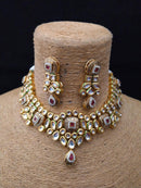 Titrant Traditonal Kundan Necklace Set
