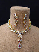 Angola Fasanative Kundan Necklace Set