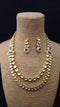 Adhesive Designer Kundan Necklace Set
