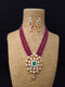 Semi-translucent Kundan Necklace Set