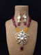 Versatile Highlighted Kundan Necklace Set
