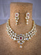 Hypoallergenic Lastered Kundan Necklace Set