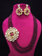 Subtle Drastic Kundan Necklace Set