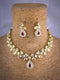 Valley Goldmine Kundan Necklace Set -Fashion Jewellery-Fashion Kida