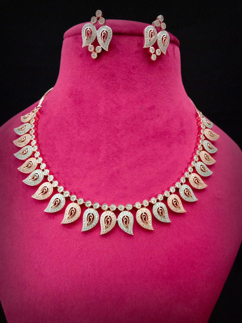 Style Jewel Luxurious Cz Necklace Set
