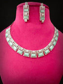 Fox's Shop Designer Cz Necklace Set -Fashion Jewellery-Fashion Kida