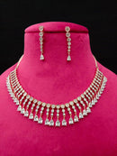 Art Chic Enriched Cz Necklace Set -Fashion Jewellery-Fashion Kida