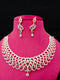 Fine Cut Designer Cz Necklace Set -Fashion Kida-Fashion Jewellery