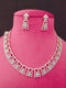 The Jewelry Wizard Cz Necklace Set-Fashion Jewellery-Fashion Kida