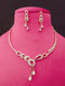 Estate Jewelry Designer Cz Necklace Set -Fashion Jewellery-Fashion Kida