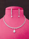 Holidaze Designer Cz Necklace Set -Fashion Jewellery-Fashion Kida