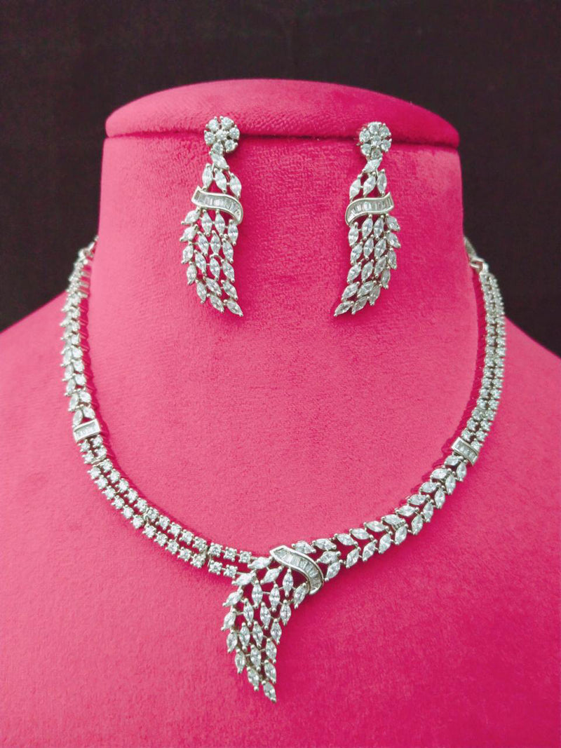 Pippin Vintage Cz Necklace Set -Fashion Jewellery-Fashion Kida