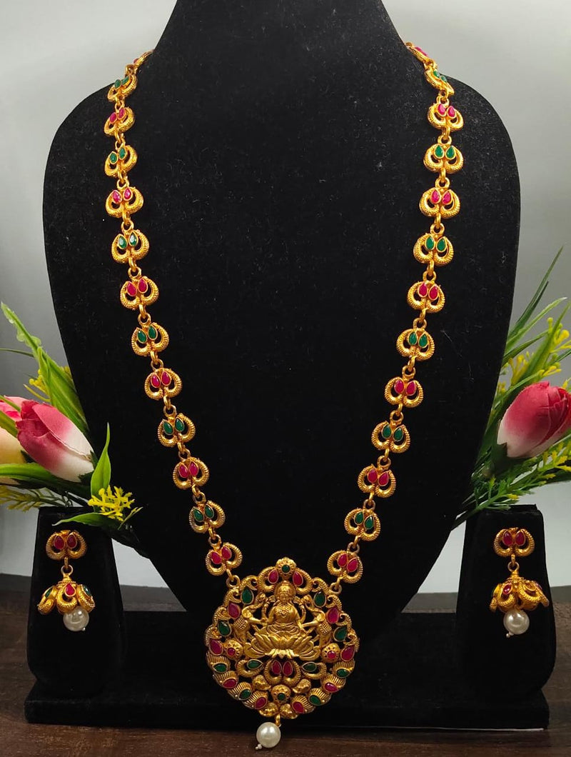 Shower Blessing Lakshmi Necklace Set