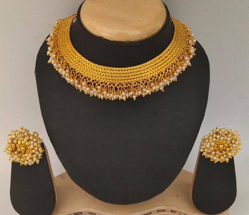 Traditional  Enriched Choker Necklace Set