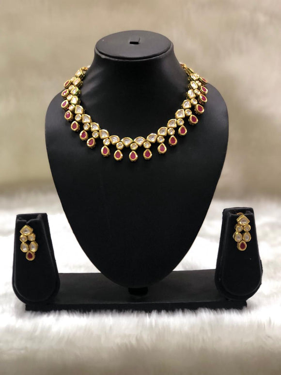 Choker Kundan Designer Necklace Set