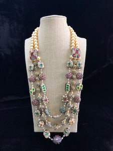 Pearl Beaded Intriguing Necklace