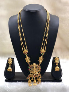 Praised Lord Ganesha Temple Necklace Set