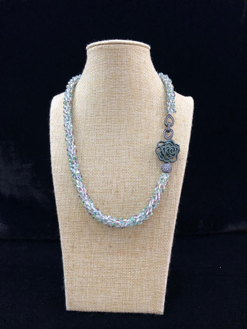 Centric Decorative Beaded Necklace