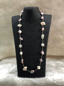 Chunky Baroque Beaded Necklace