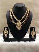 Eye Drop Kundan Designer Necklace Set
