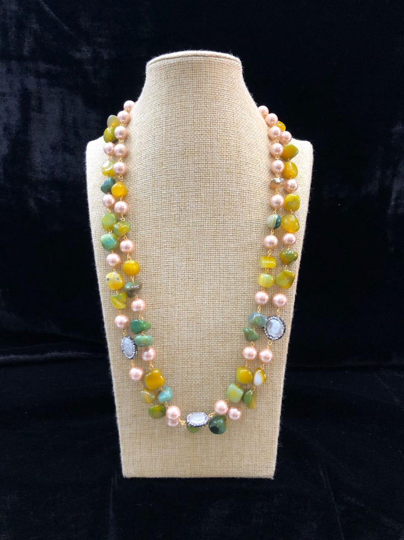 Incrediable Beautiful Gemstone Necklace