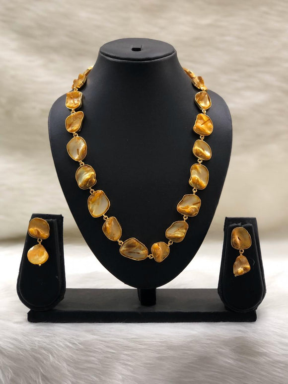 Garden of Gems Amber Necklace Set