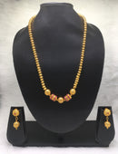 Glimerous Shine Gold Plated Necklace Set
